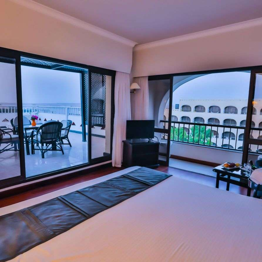 Superior Terraced Room